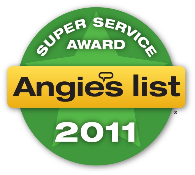We won the 2011 Angie's List Award by providing great AC unit service by Southfield, MI.