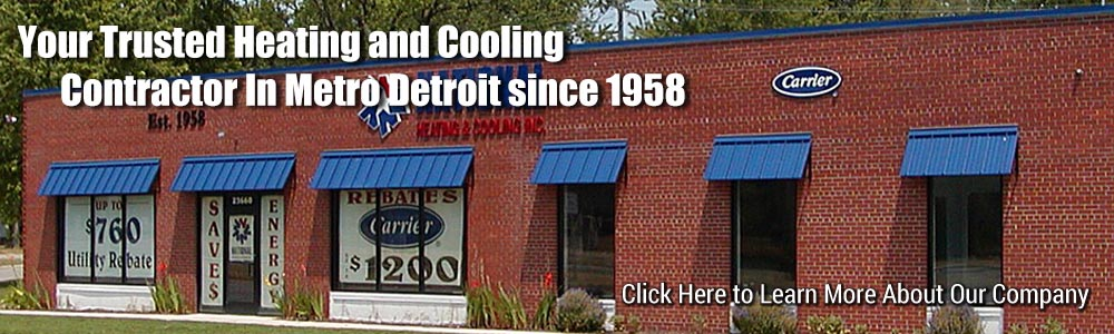Call for reliable Air Conditioner replacement in Redford MI.